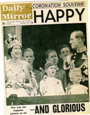 1953  daily Mirror