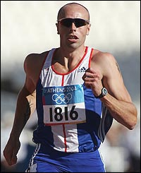 British athlete Dean  Macey