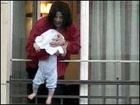 Michael Jackson  (dangling his helpless child over a Berlin hotel balcony)