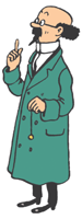 Tintin (the  professor is called Professor Calculus)