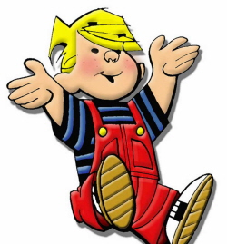 "Dennis the Menace (accept ""Dennis"")"