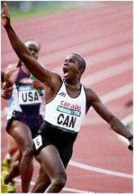 Donovan Bailey  sprinter