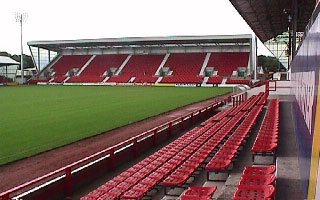 East End Park, home of Dunfermline AFC
