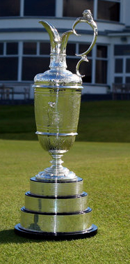 The Claret Jug - trophy for The British Open