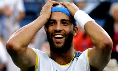 Tennis (its James Blake)
