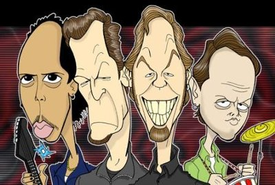 Cartoon Metallica