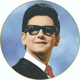 Roy  Orbison and his trademark shades