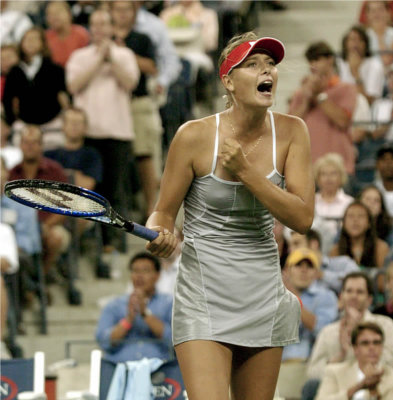 Russian (its  Maria Sharapova)