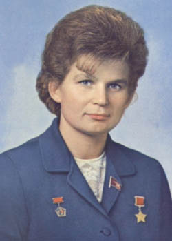 She became the first woman in space (Valentina Tereschkova)