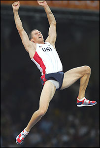 Pole Vaulting  (its Timothy Mack of the USA)